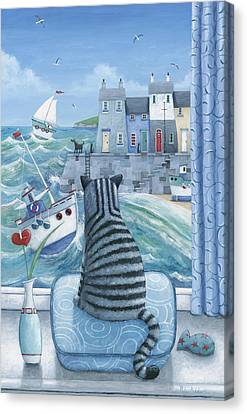 Rather Mew Canvas Print by Peter Adderley