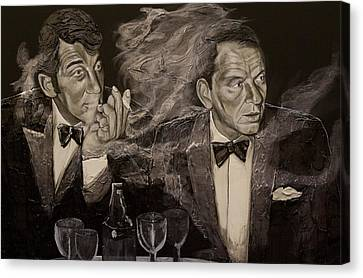 Ratpack Canvas Print by Richard Nunez