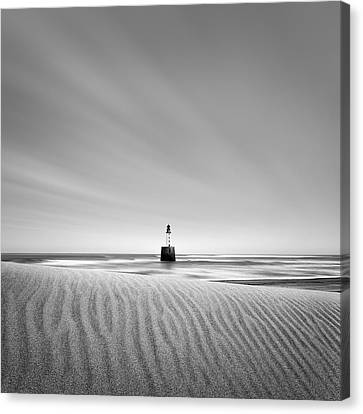 Rattray Head Lighthouse Canvas Print by Dave Bowman