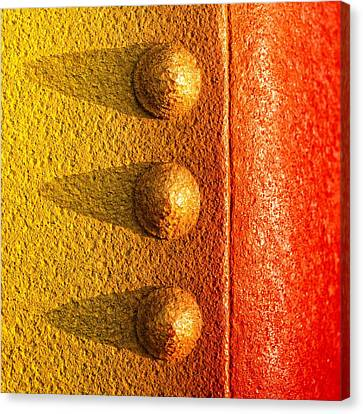 Raw Steel Canvas Print by Tom Druin