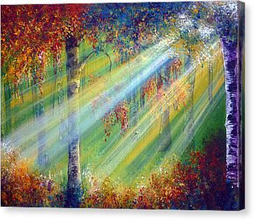 Rays Canvas Print by Ann Marie Bone