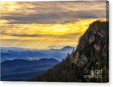 Ray's Of Hope Canvas Print by Anthony Heflin