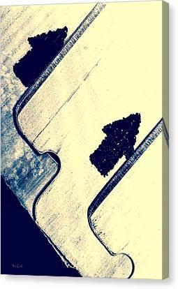 Razor Blades Canvas Print by Bob Orsillo