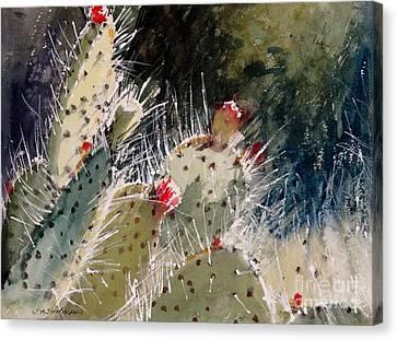 Reach For The Sun Canvas Print by Sandra Strohschein