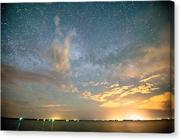 Reach Upon The Stars Canvas Print by James BO  Insogna