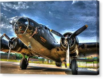 Ready For Takeoff 3 Canvas Print by Mel Steinhauer