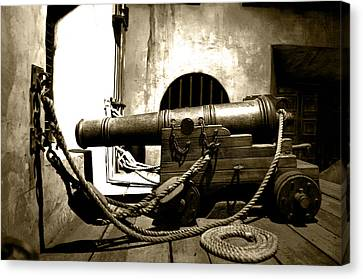 Ready The Canons Canvas Print by Ryan Crane