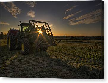 Ready To Roll Canvas Print by Mark Kiver