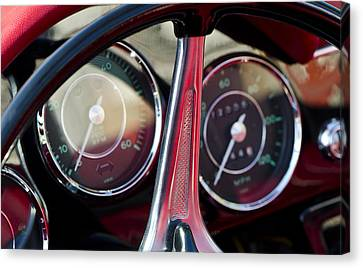 Ready To Roll - Vintage Porsche Car By Sharon Cummings Canvas Print by Sharon Cummings