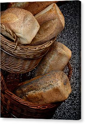 Real Bread Canvas Print by Odd Jeppesen