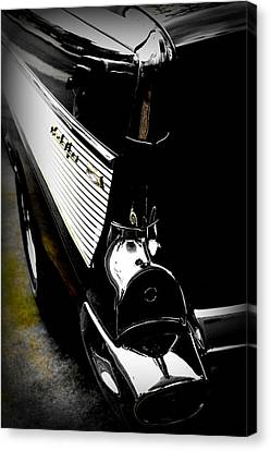 Rear Fin Bel Air  Canvas Print by Tim Wintjen