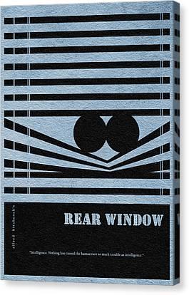 Rear Window Canvas Print by Ayse Deniz