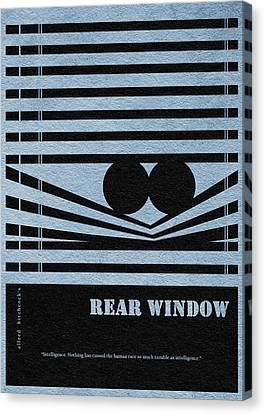 Rear Window Canvas Print by Ayse Deniz