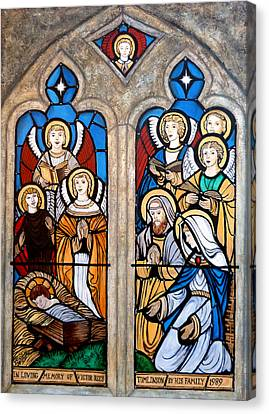 Reason For The Season Canvas Print by Tom Roderick