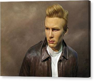 Rebel Without A Cause Canvas Print by David Dehner