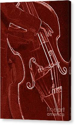 Red Bass Canvas Print by James L. Amos