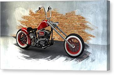 Red Bobber Canvas Print by Louis Ferreira