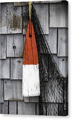 Red Buoy Canvas Print by Rafael Macias