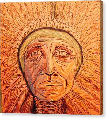 Red Cloud Canvas Print by Edward Paul