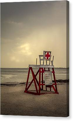 Red Cross Lifeguard Canvas Print by Marvin Spates