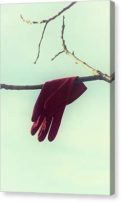 Red Glove Canvas Print by Joana Kruse