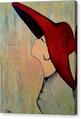 Red Hat Canvas Print by Mirko