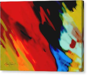 Red Hot Fiesta  Canvas Print by Ann Powell
