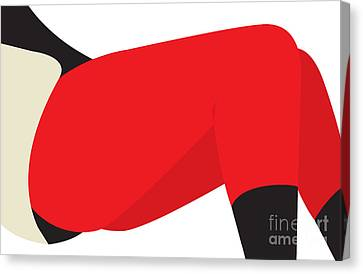 Red Leggings Canvas Print by Igor Kislev