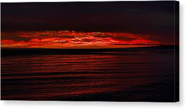 Red Canvas Print by Mike Herdering