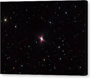 Red Rectangle Nebula Canvas Print by Adam Block/mount Lemmon Skycenter/university Of Arizona