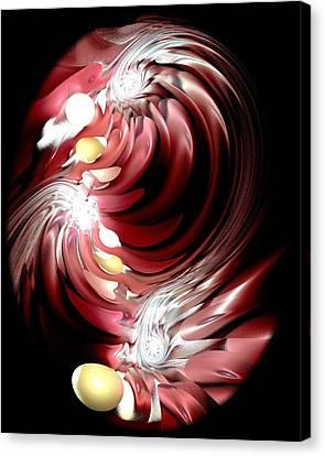 Red Tides Canvas Print by Anastasiya Malakhova