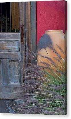 Red Wall Canvas Print by CJ Middendorf