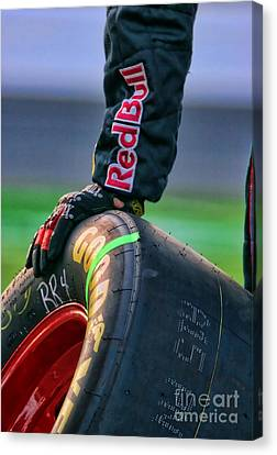 Redbull Good Year By Diana Sainz Canvas Print by Diana Sainz