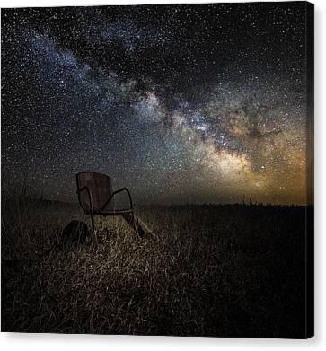 Redneck Planetarium Canvas Print by Aaron J Groen