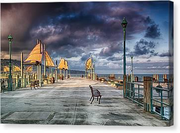 Redondo Pier Canvas Print by Joseph Hollingsworth