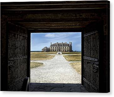 Redoubt Gates Canvas Print by Peter Chilelli