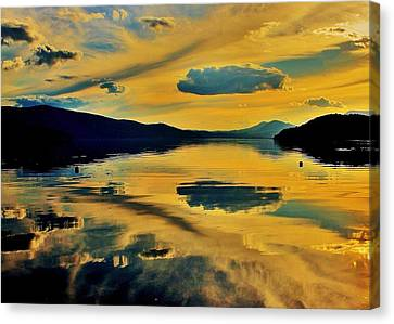 Reflect Canvas Print by Benjamin Yeager