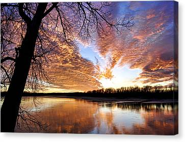 Reflected Glory Canvas Print by Cricket Hackmann