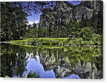 Reflecting On Yosemite Canvas Print by LeeAnn McLaneGoetz McLaneGoetzStudioLLCcom