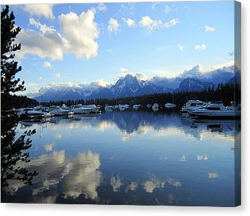 Reflection Lake 2 Canvas Print by Mike Podhorzer