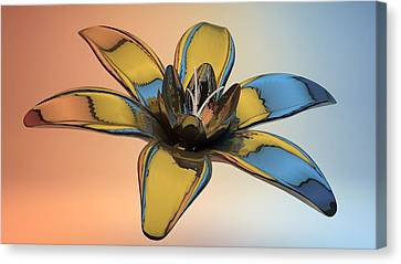 Reflection Canvas Print by Louis Ferreira