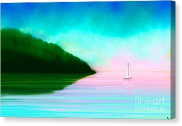 Reflections Canvas Print by Anita Lewis