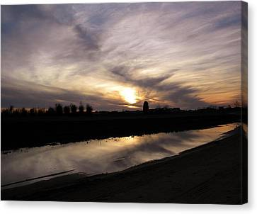 Reflections Canvas Print by Matthew Seufer