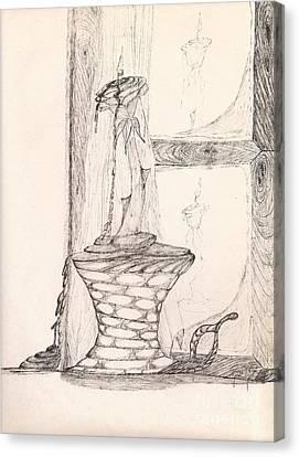 Reflections... Canvas Print by Robert Meszaros
