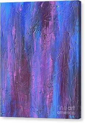 Reflections Canvas Print by Roz Abellera Art