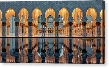 Reflections Canvas Print by Stefan Schilbe