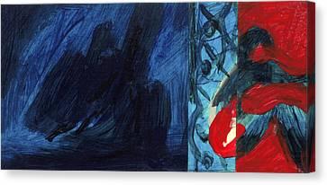 Reflexion Canvas Print by Hatin Josee