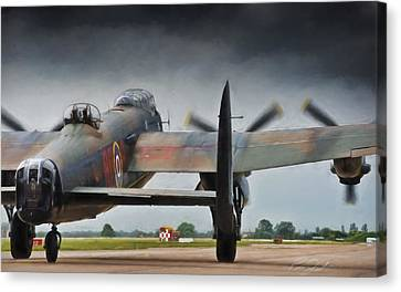 Reich Breaker Canvas Print by Peter Chilelli