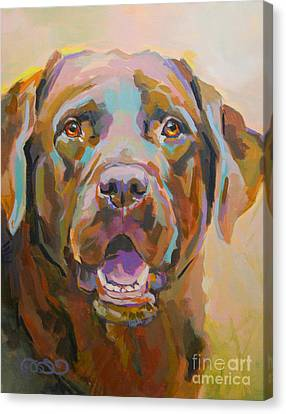 Reilly Canvas Print by Kimberly Santini