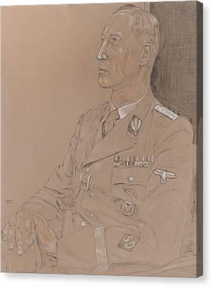 Reinhard Heydrich Canvas Print by Dennis Larson